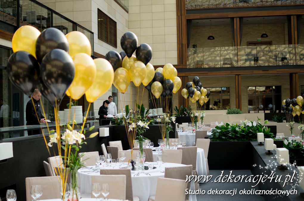 Balony Z Helem Dekoracje Balonowe Balony Z Helem Pudło Z