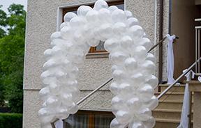 Dekoracje balonowe na wesela, uroczystości