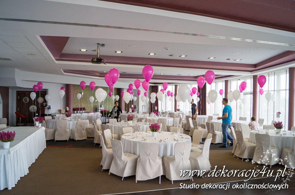 Zaawansowane Dekoracja sali Blue Diamond Nowa Wies – Dekoracje balonowe, Balony QG35