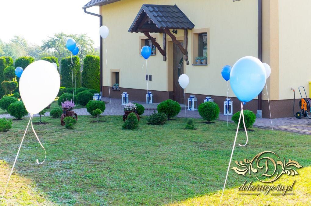 Balony Z Helem Dom Pana Młodego Rakszawa 10092016