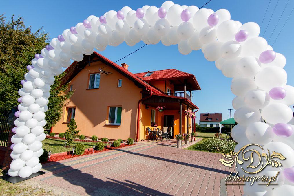 Chłodny Brama balonowa – Dekoracja domu Pana Młodego – Werynia k IC19