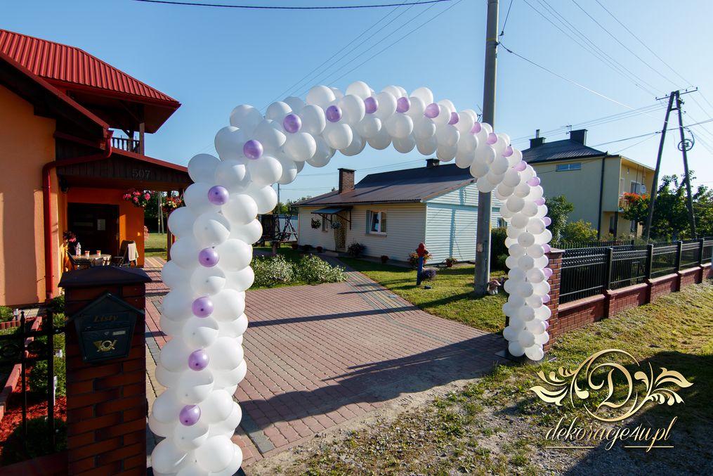 Brama Balonowa Dekoracja Domu Pana Młodego Werynia K Kolbuszowa
