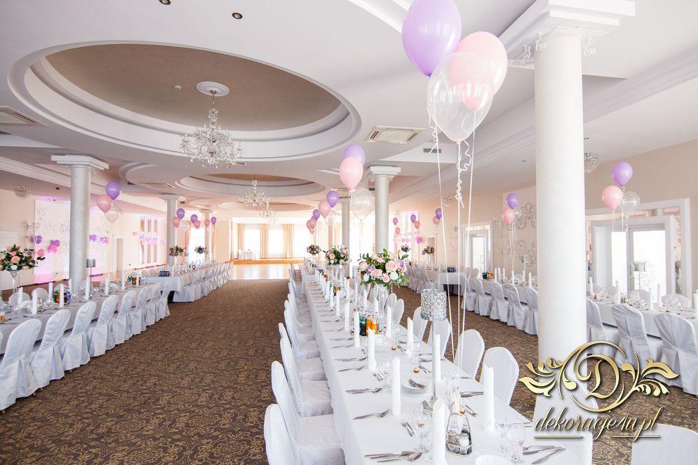 Zaawansowane Balony z helem – Dekoracja sali na wesele – Rzeszów, Alabaster WL18